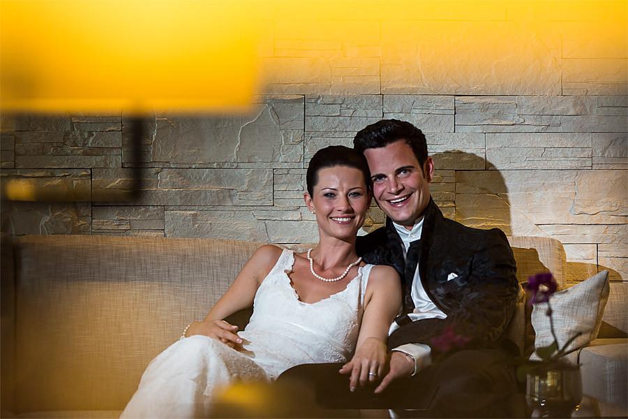 Christa und Jürgen heiraten auf der Burg Schwarzenstein im Rheingau