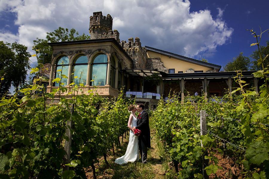 Hochzeit auf Burg Schwarzenstein im Rheingau – Barbara und Ralph