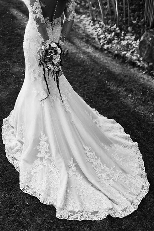 Hochzeit Burg Schwarzenstein Hochzeitskleid