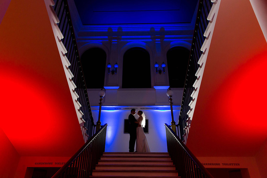 Hochzeit im Literaturhaus Frankfurt – Annette und Eckhard