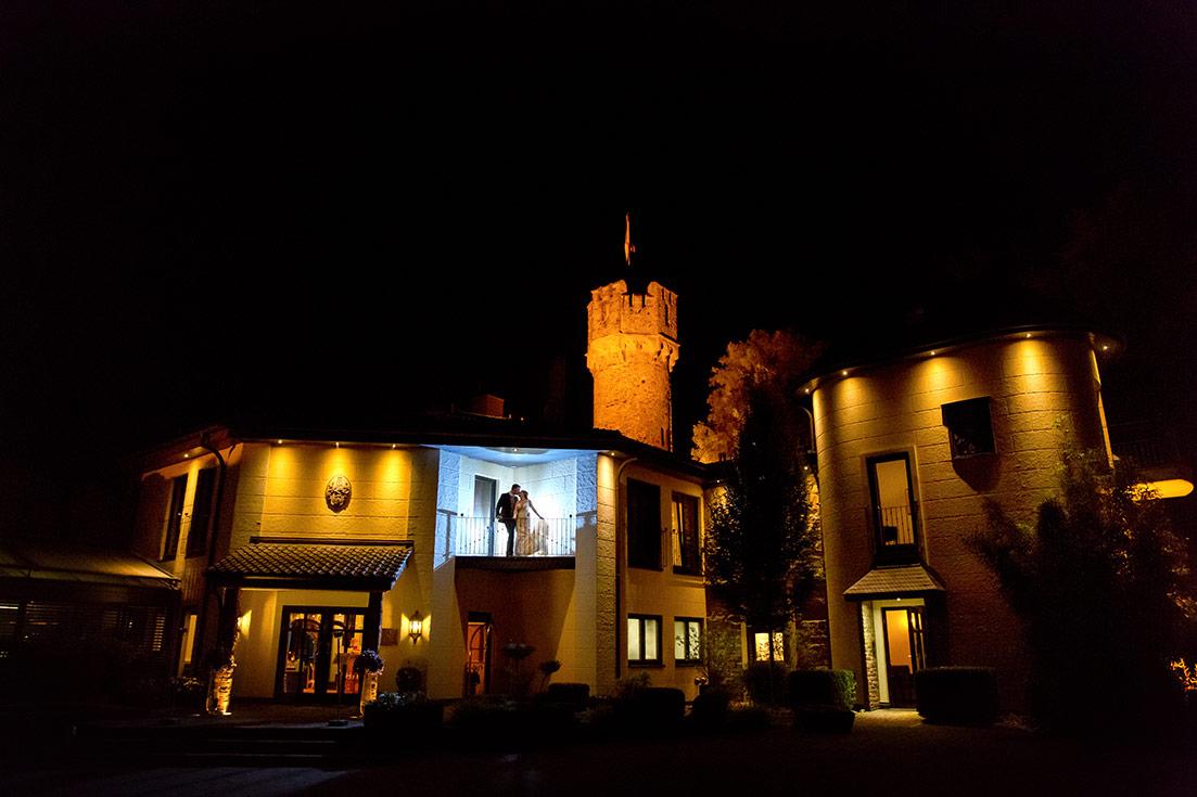 Hochzeit Burg Schwarzenstein Nacht